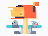 Mail Pigeons