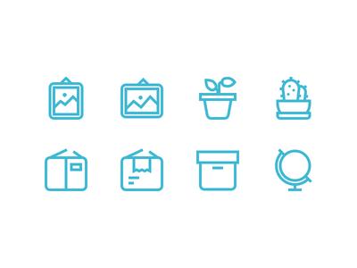 Interior / Household icons