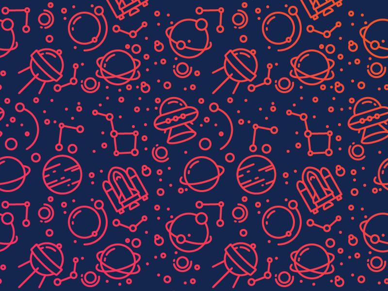 Dribbble pattern