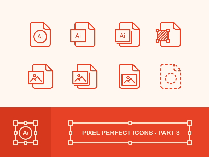 Create Pixel Perfect Icons - Part 3 png vector file image illustrator pixel perfect icons pixel perfect outline icons icons