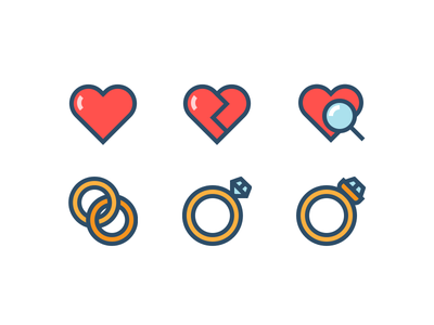 Colourful Weddings diamond ring rings search in love love heart outline wedding icons wedding icons outline icons icons weddings