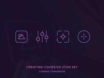 Make Cohesive Icon Set