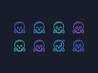 Scull Emoticons