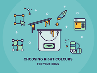 Choosing best colours for your next icon set