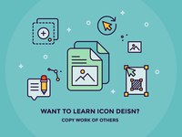 Learn Icon Design by Copying Others