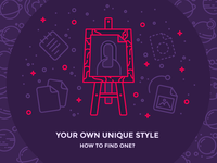How to find your own icon style?