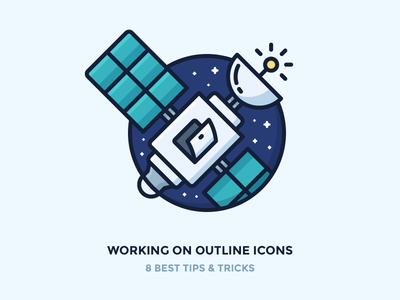 Working On Outline Icons Properly!
