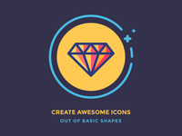 Create Icons out of Basic Shapes