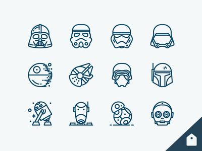 Star Wars Icons Freebie