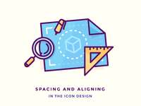 Spacing and Aligning in The Icon Design