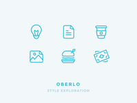 Oberlo Icon Style Exploration