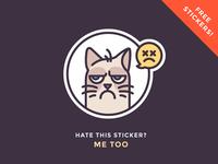 Grumpy Sticker Giveaway!