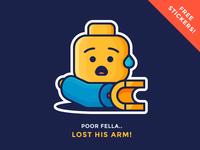 Lego Sticker Giveaway!