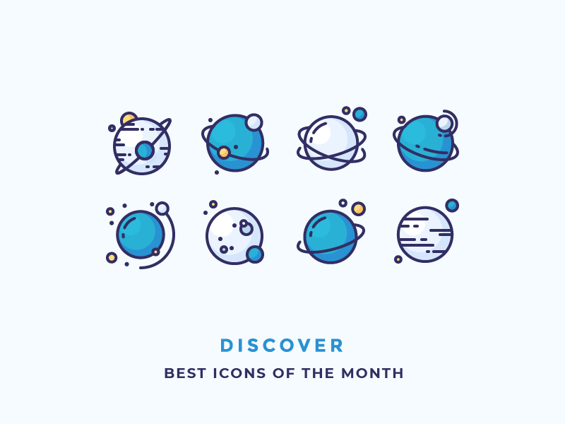 Best Icons Of The Month! by Justas Galaburda