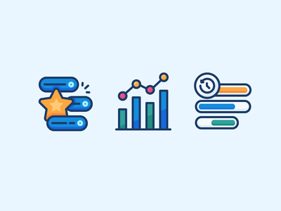Analytics icons
