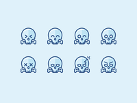 Ahhrrr! Skulls and Pirates!