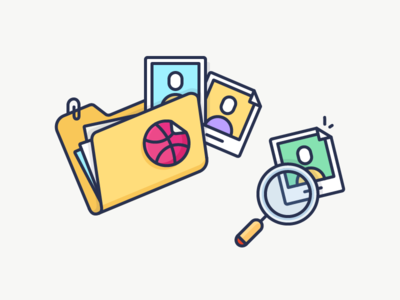 Searching for Dribbble players