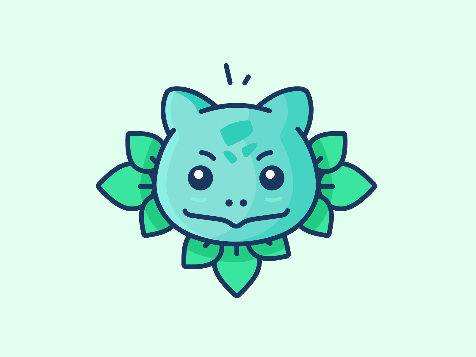 Bulbasaur dribbble