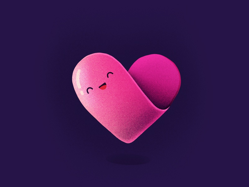 Love! wedding date folded noise symbol laughing happy smiling face character emoji heart love illustration icon