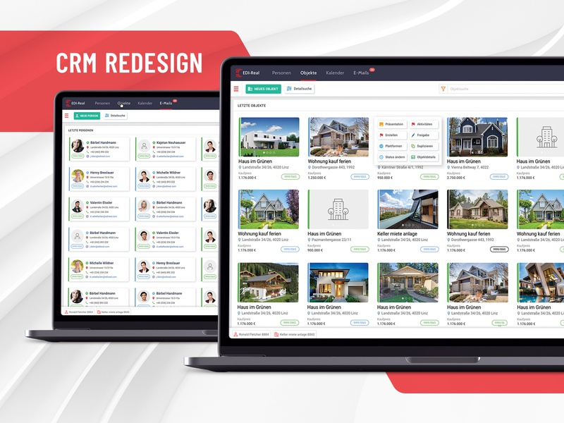 Complete CRM redesign