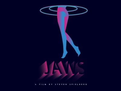 2 / Jaws Poster  spielberg movie jaws