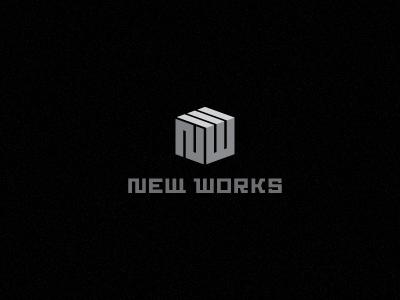 NEW WORKS © design nw monogram custom made typography type logotype industrial minimal muamer adilovic