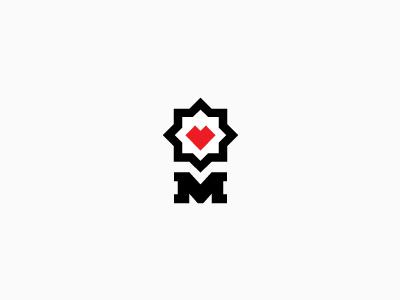 M muamer adilovic design © m love heart