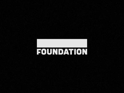 Foundation © logotype podcast foundation custom made