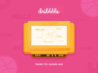 Hello Dribbble,Hello Player