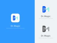 Dr.magic logo design