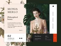 Monia Merlo - Philosophical beauty