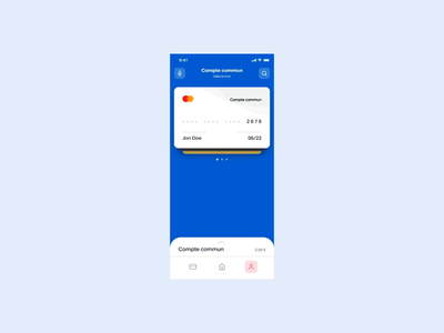 Banking app - Sorting cards product design products product concept sort credit card card bank app banking app banking bank application app