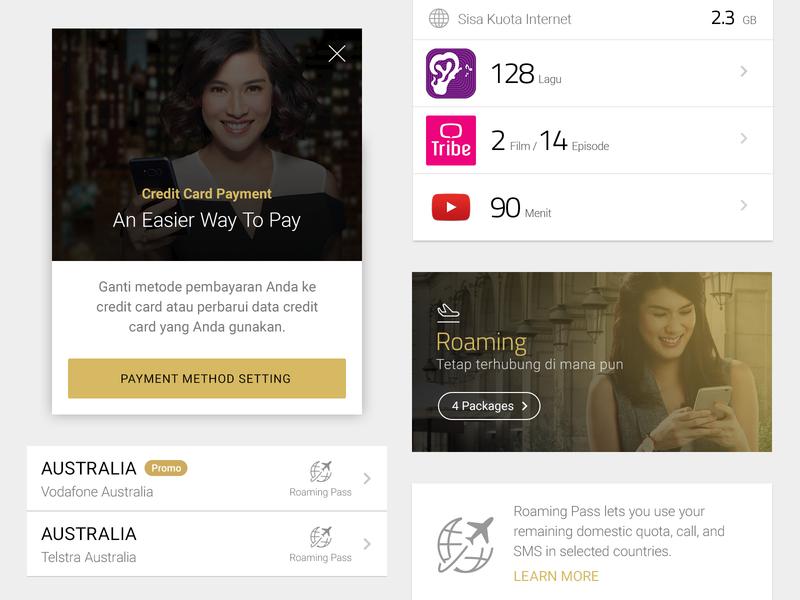 Telco App circa 2017 gold light interface ios android app telco