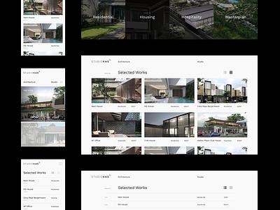 Architecture Portfolio Details portfolio website portfolio site portfolio design portfolio minimalism minimal layout grid layout grid design clean architecture