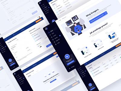 Dataramix - Data Analysis App clean ui design app data statistic admin panel interface dashboard app