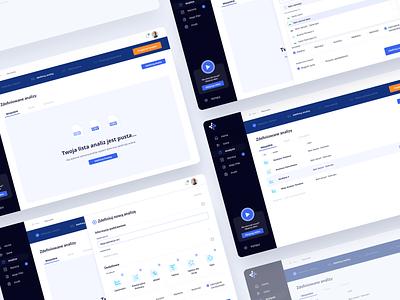 Dataramix - Dashboard Wizard ux clean ui interface admin panel dashboard app sketch clean ui design design app ui design