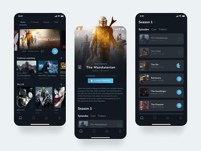 Amazon Prime - Video Player App Concept 2021 design streaming app player ui product design ui clean ui design app clean ui design ux figma mobile app mobile ui design