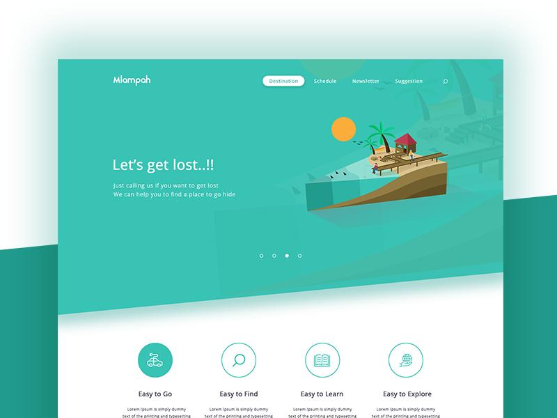 Mlampah Travel Homepage