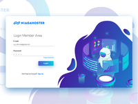 Niagahoster Login Page
