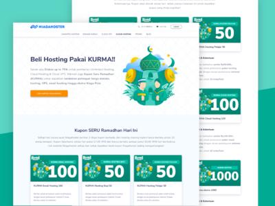 Kurma Landing Page