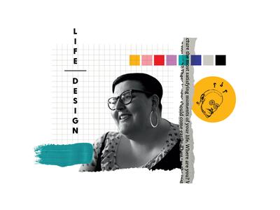 Collage Series #4 logo collage art illustrator collages portrait collageart collage branding illustration art illustration