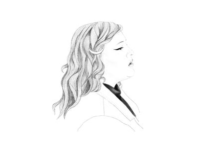 Fire & Ice illustration art ipad portrait illustration