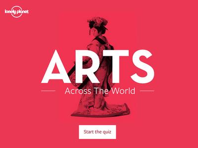 Arts facebook quiz
