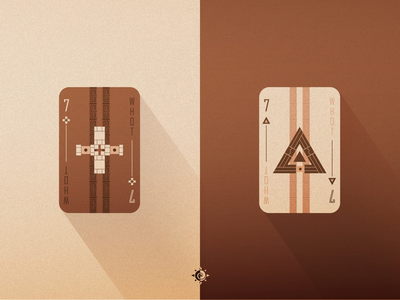 WHOT! Playing Card Redesign art direction design art illustration playing card
