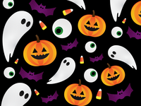 Pumpkins and Ghosts and Bats OH MY