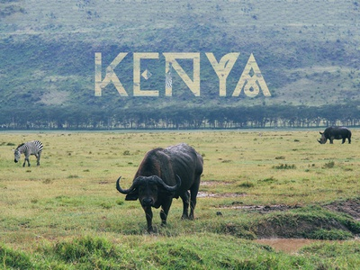 Moveast Country Covers - Kenya photo photography brand branding type kenya travel traveler city design cover
