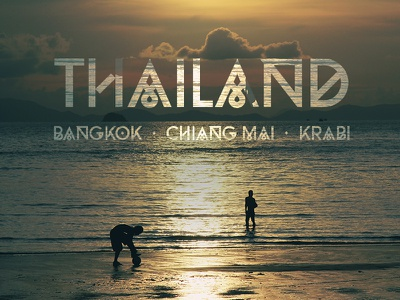 Moveast Country Covers - Thailand photo photography brand branding type thailand travel traveler bangkok city design cover