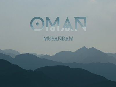 Moveast Country Covers - Oman photo photography brand branding type khasab travel traveler oman city design cover