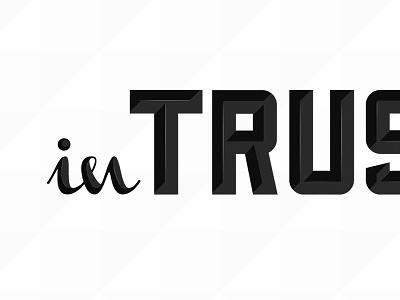 in Trusthing typography shadow logo blog tumblr pattern serif strong contrast detail sans serif