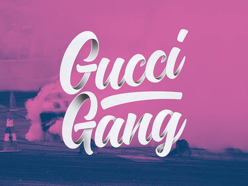 Gucci Gang by James Butterly on Dribbble